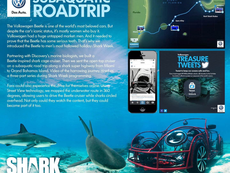 2013 Shark Week Partnership Thumbnail