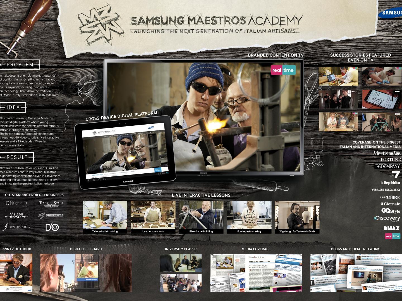 Samsung Maestros Academy Thumbnail