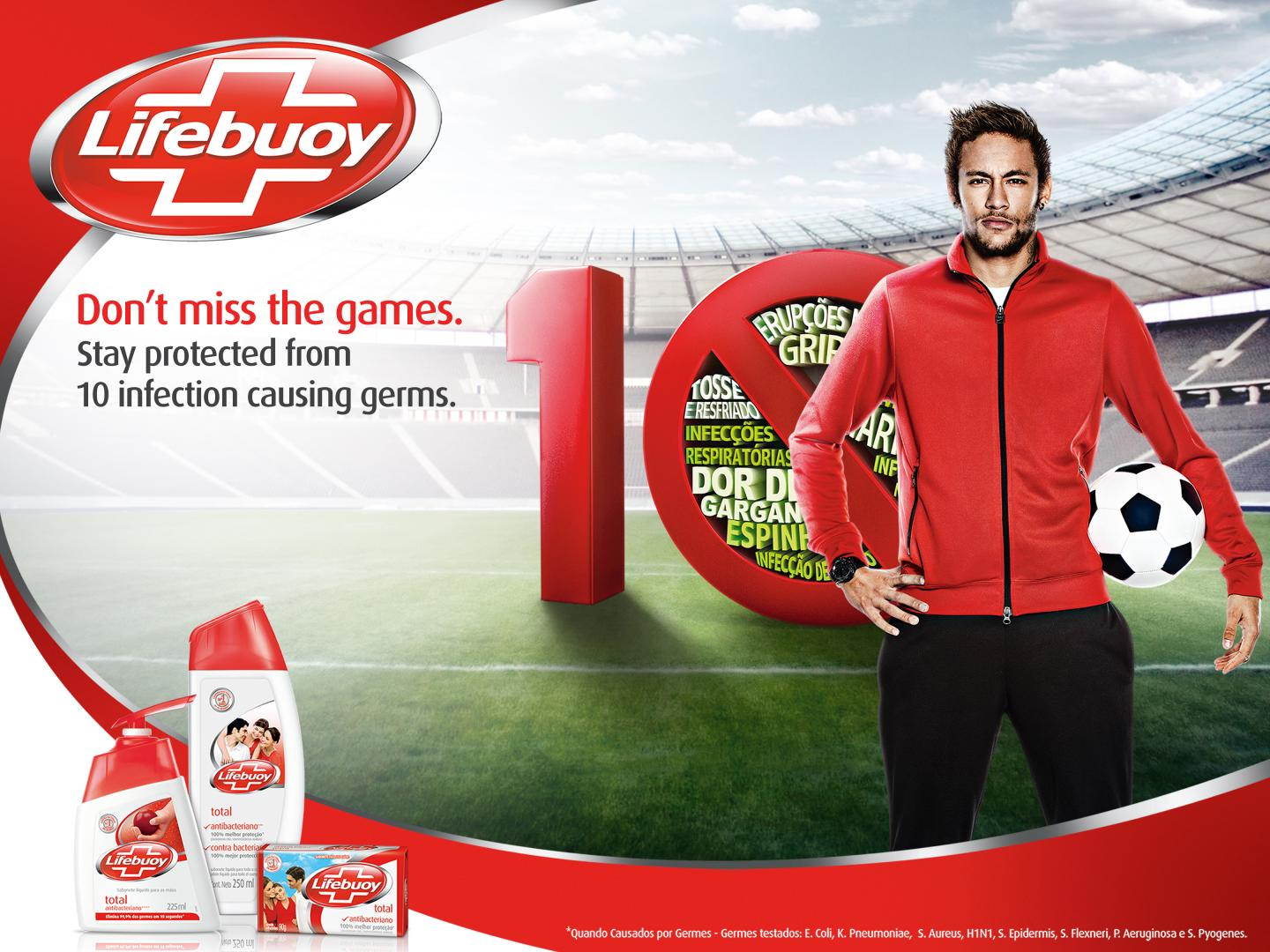 Don't miss the games. Don't forget Lifebuoy Thumbnail