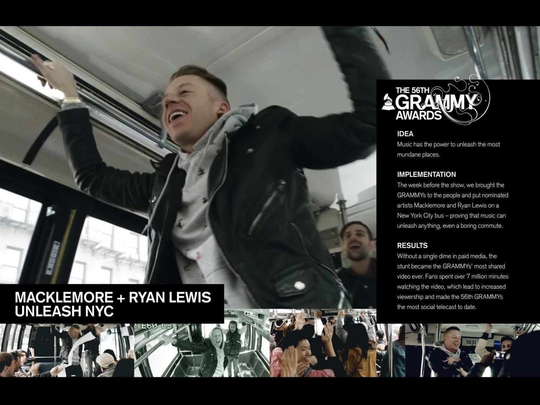 Macklemore & Ryan Lewis Unleash NYC Thumbnail