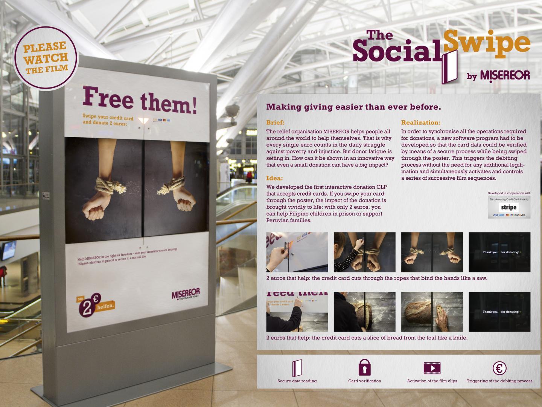 The Social Swipe Thumbnail
