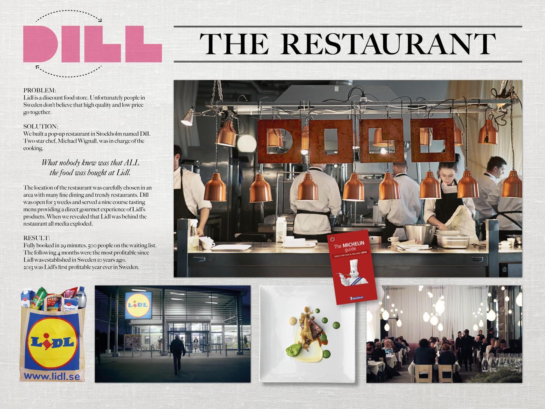 Dill - The restaurant. Thumbnail
