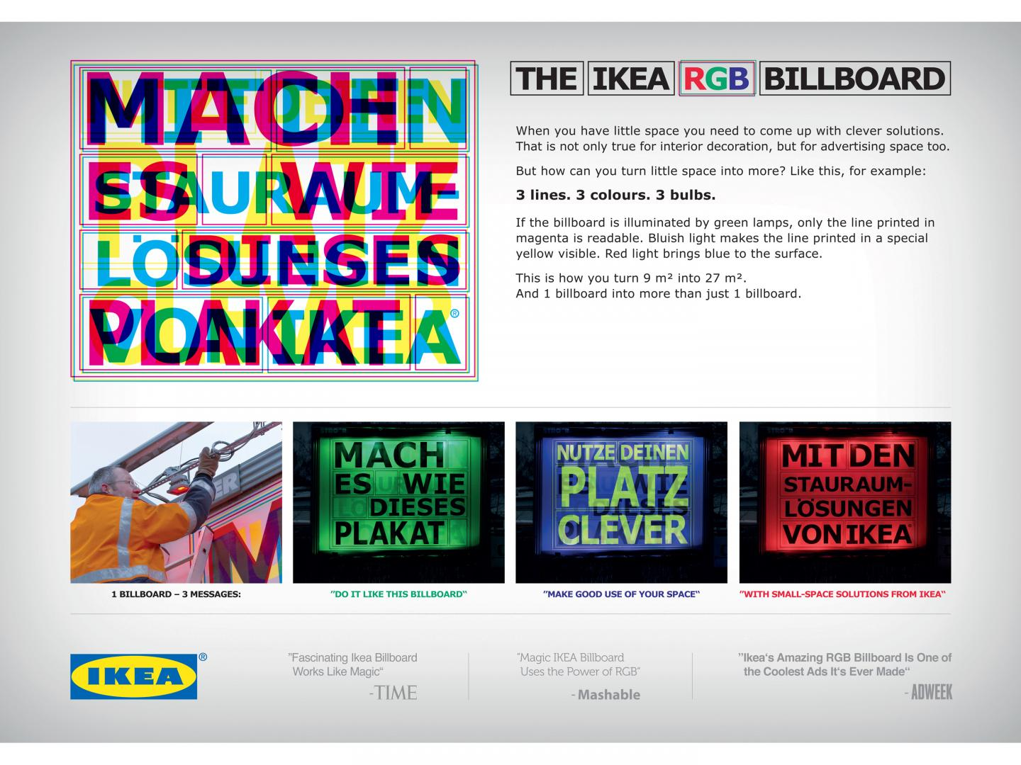 THE IKEA RGB BILLBOARD Thumbnail