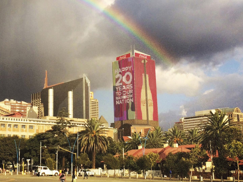 A rainbow for the Rainbow Nation Thumbnail
