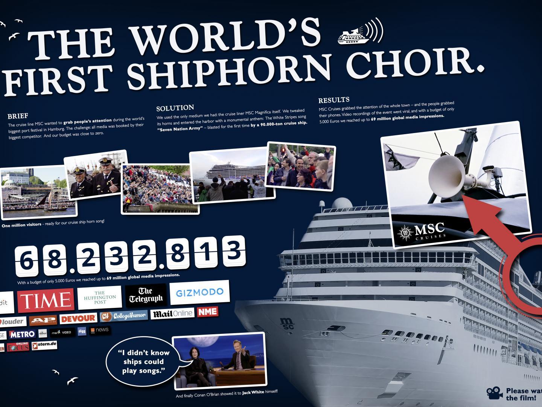 THE MSC MAGNIFICA SHIPHORN CHOR Thumbnail