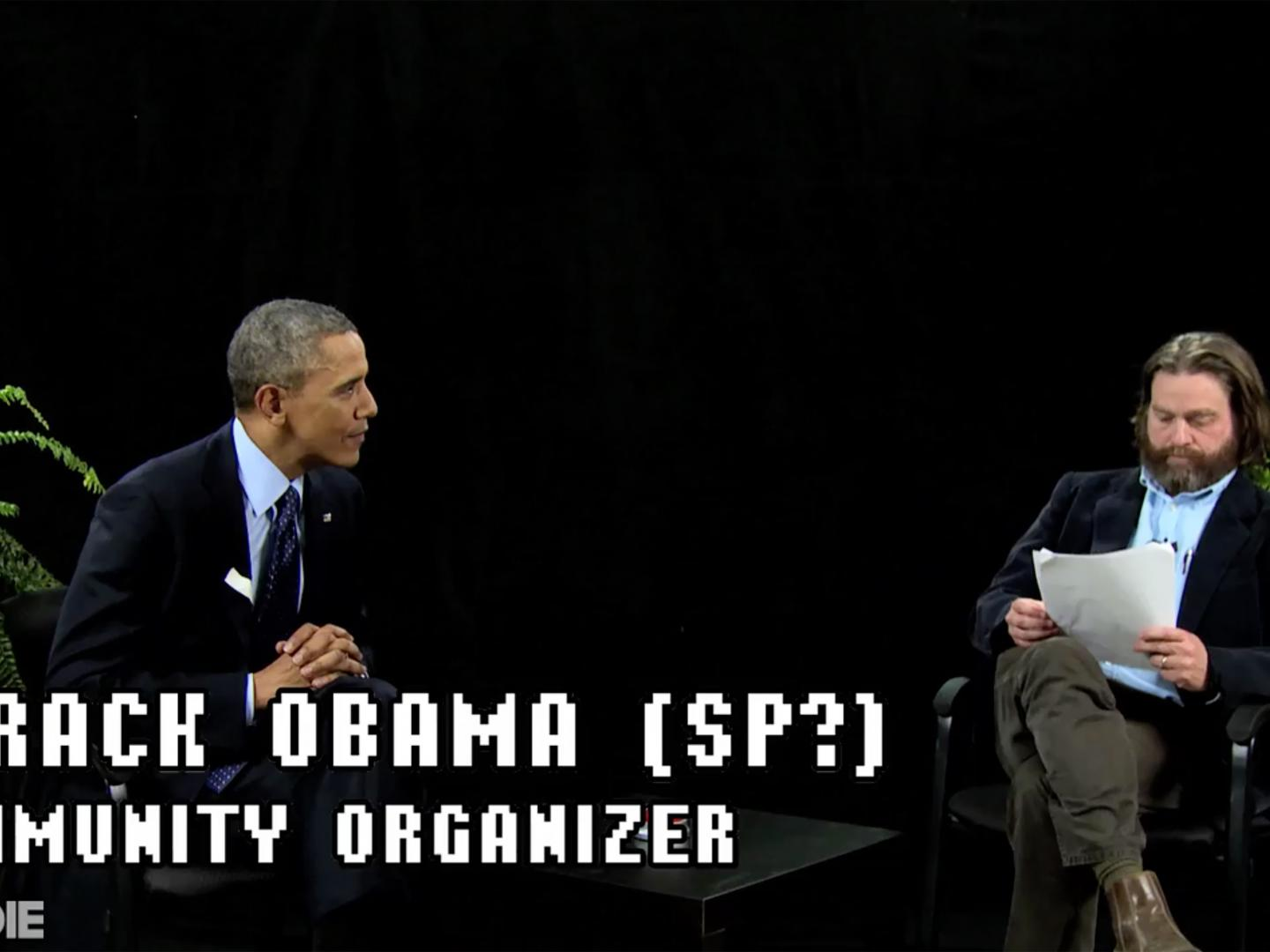 Between Two Ferns with Zach Galifianakis: President Barack Obama Thumbnail