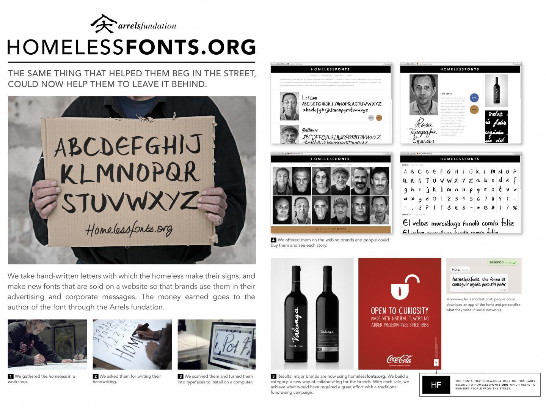 Homeless Fonts Thumbnail