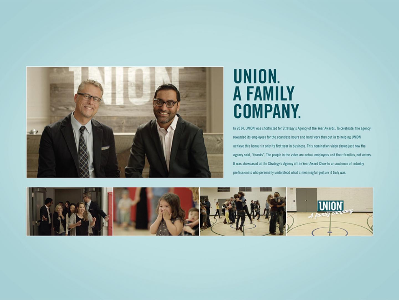 UNION - A Family Company Thumbnail