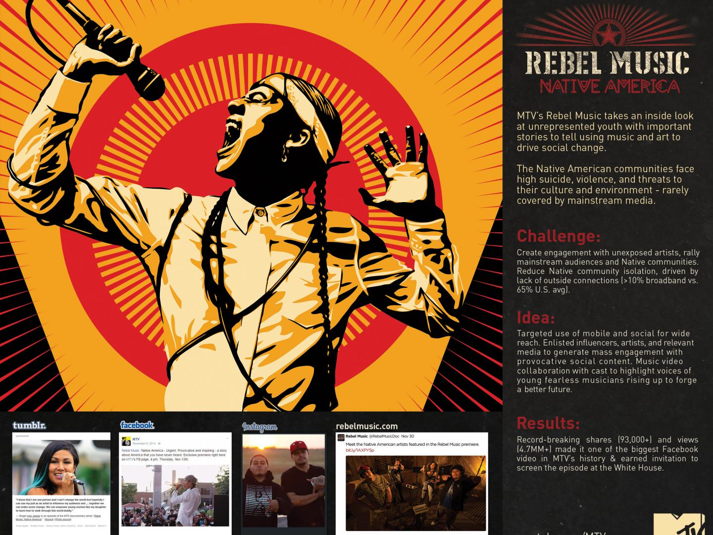 Rebel Music: Native America Facebook Premiere Thumbnail