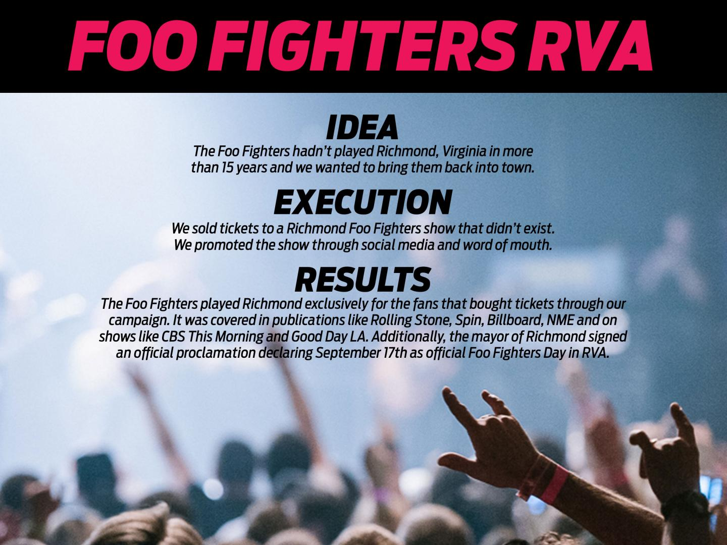 Foo Fighters RVA Thumbnail