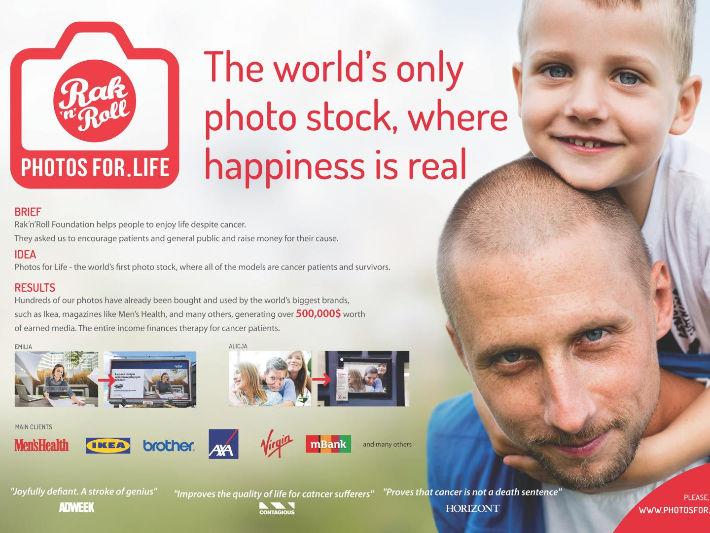 Photos for Life - A Charity Photo Stock Thumbnail