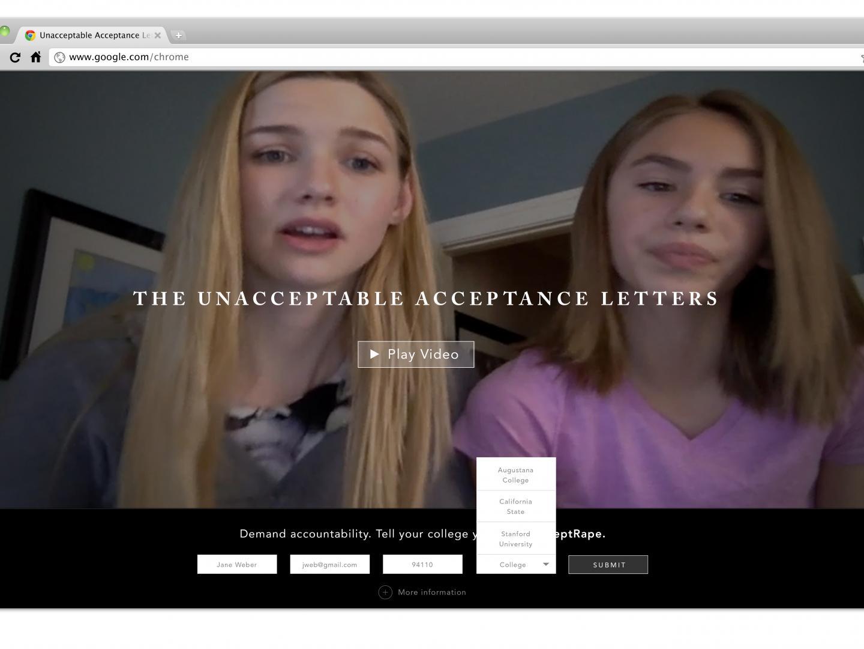 Unacceptable Acceptance Letters Thumbnail