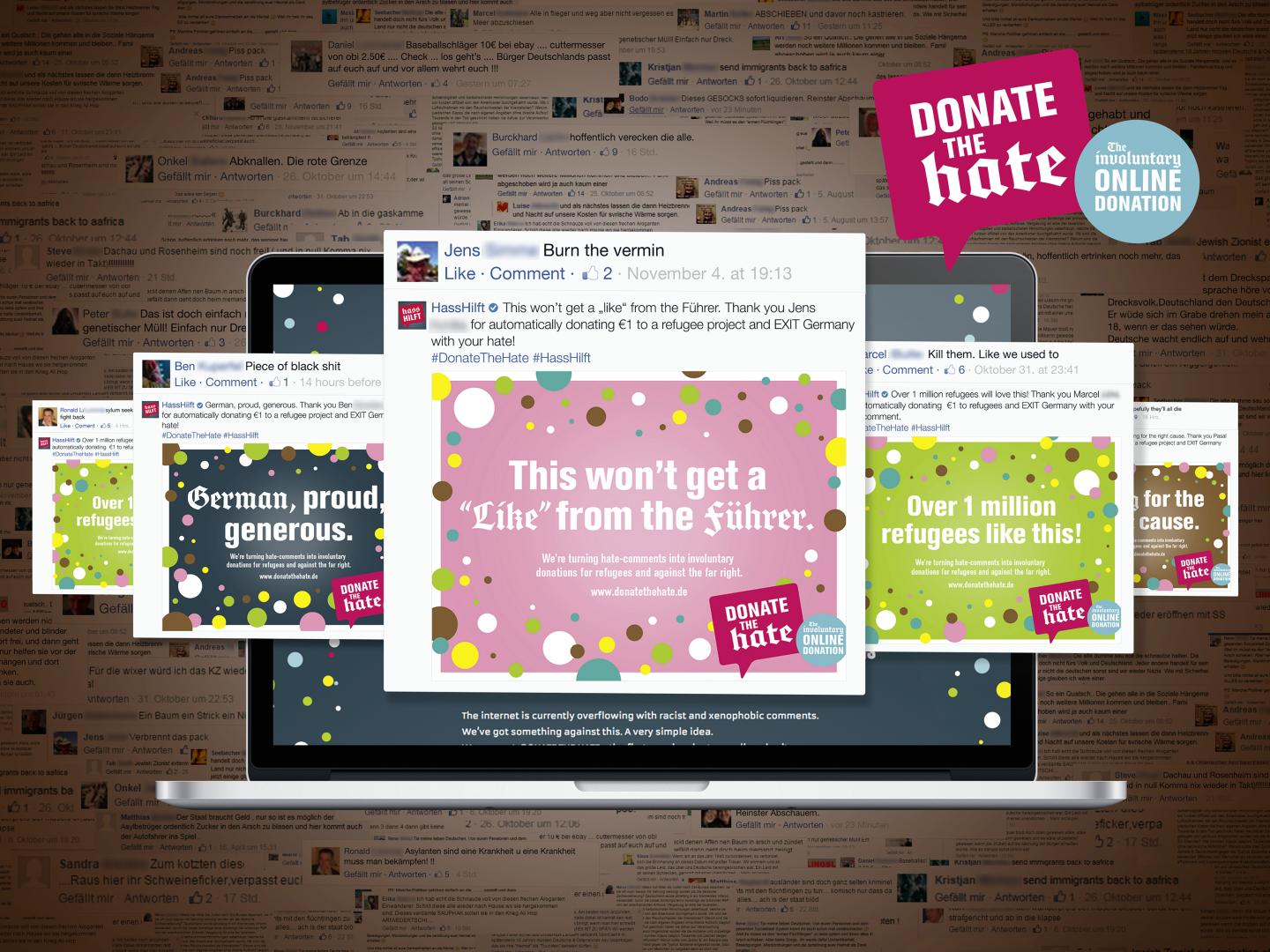 Donate The Hate - The Involuntary Online Donation Thumbnail