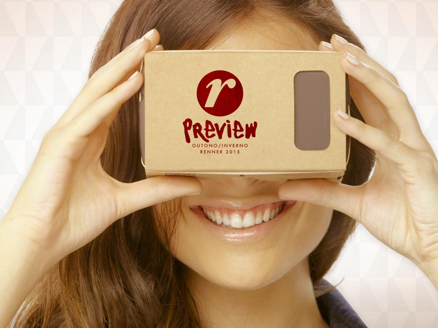 Renner Winter Collection Preview Event with Google Cardboard Thumbnail