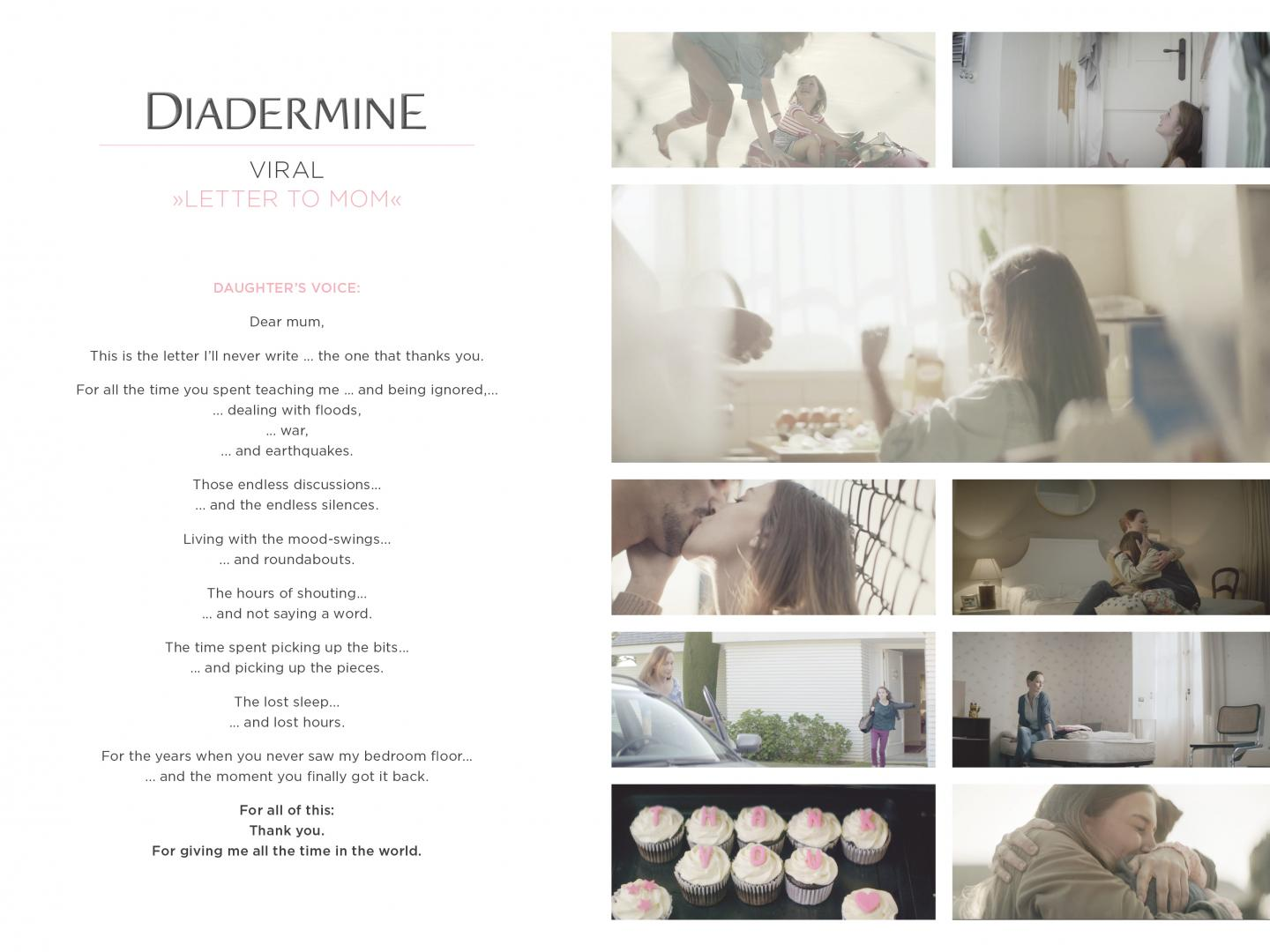 Diadermine Love letter to Mum Thumbnail