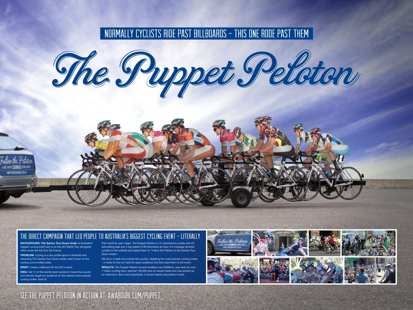The Puppet Peloton Thumbnail