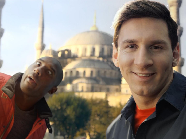 Kobe vs. Messi: The Selfie Shootout Thumbnail