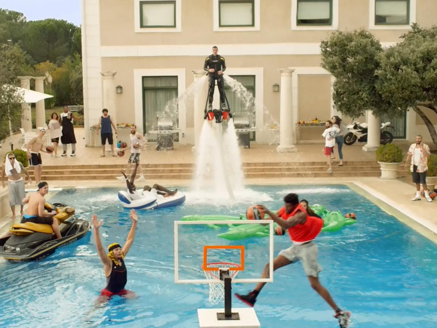 Epic Pool Dunk Behind the Scenes Thumbnail