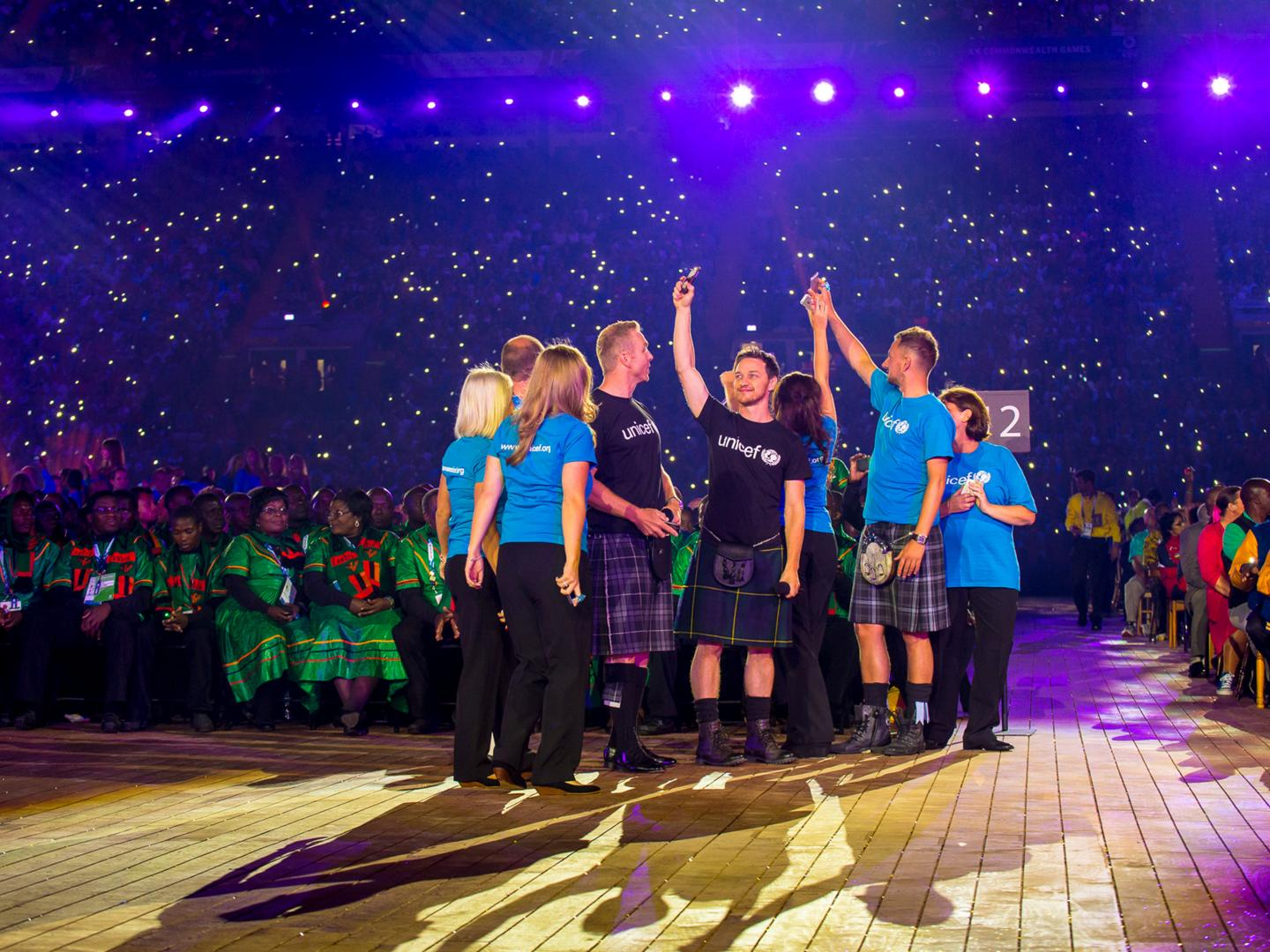 UNICEF at the 2014 Glasgow Commonwealth Games Thumbnail