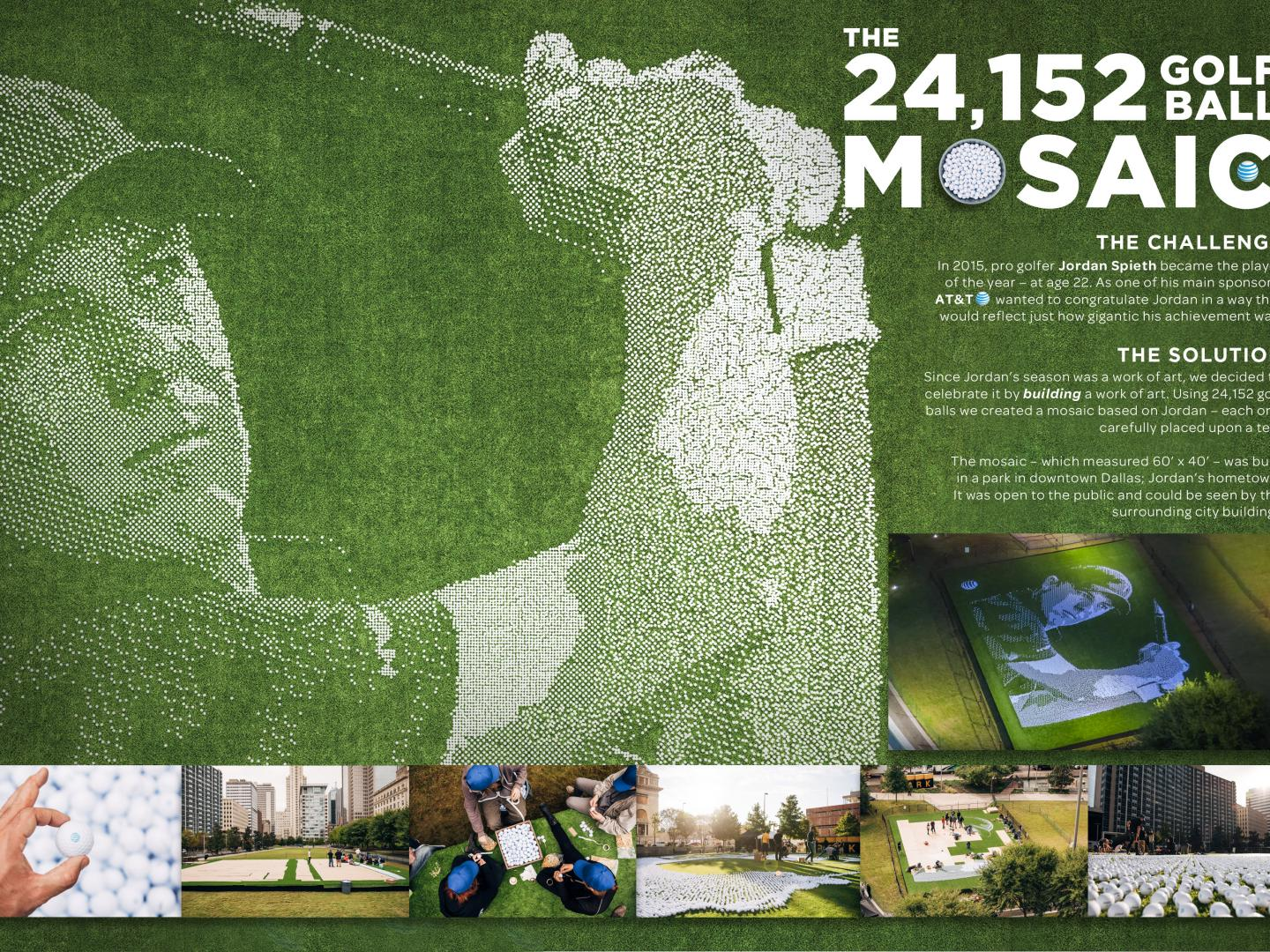 The 24,152 Golf Ball Mosaic Thumbnail