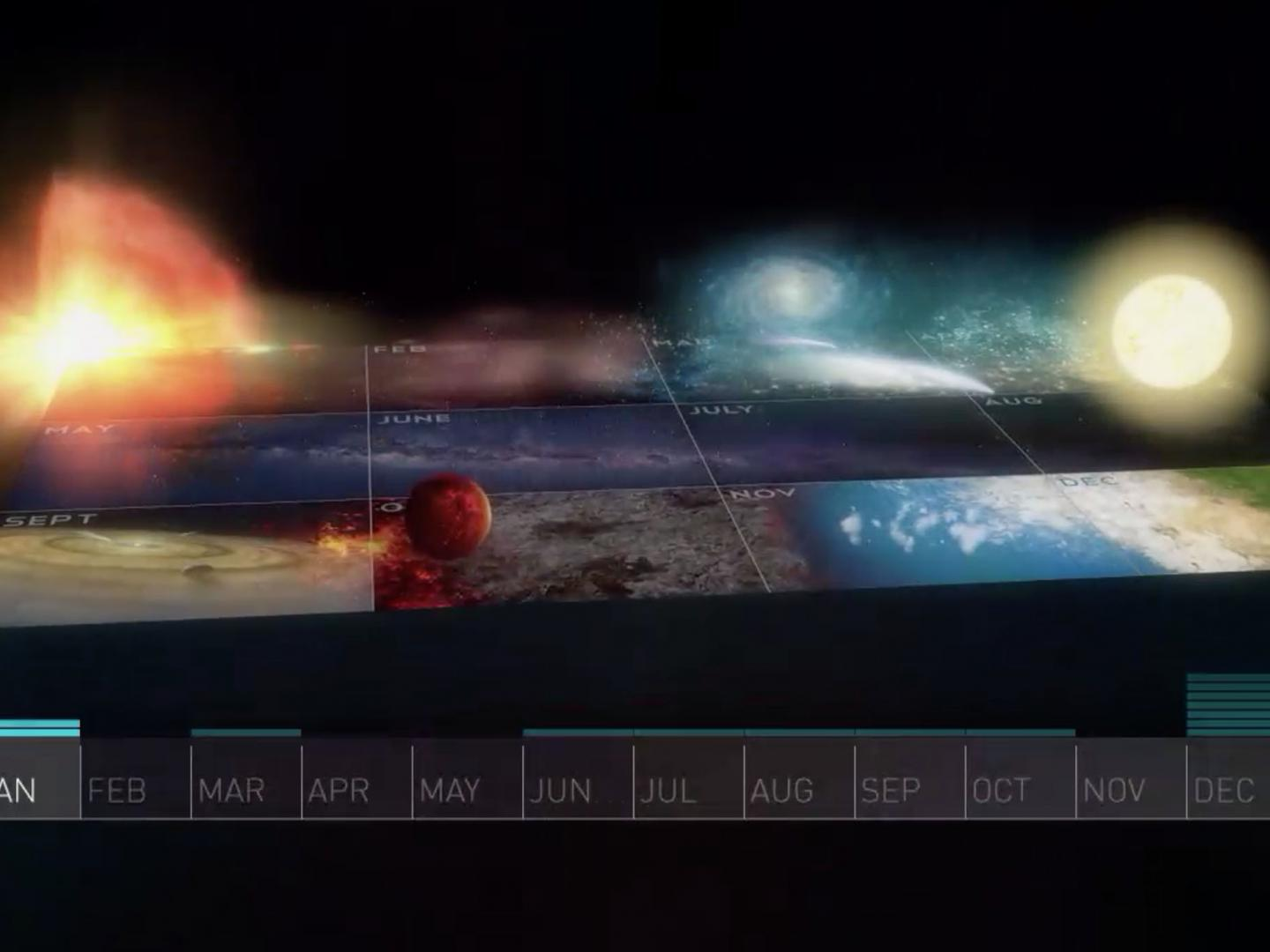 Cosmic Calendar Interactive Feature - Blu-Ray Interactive Content Thumbnail