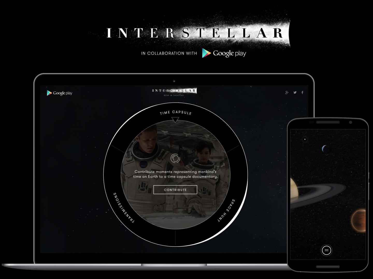 Google Play Launches Fans Into Interstellar Space Thumbnail