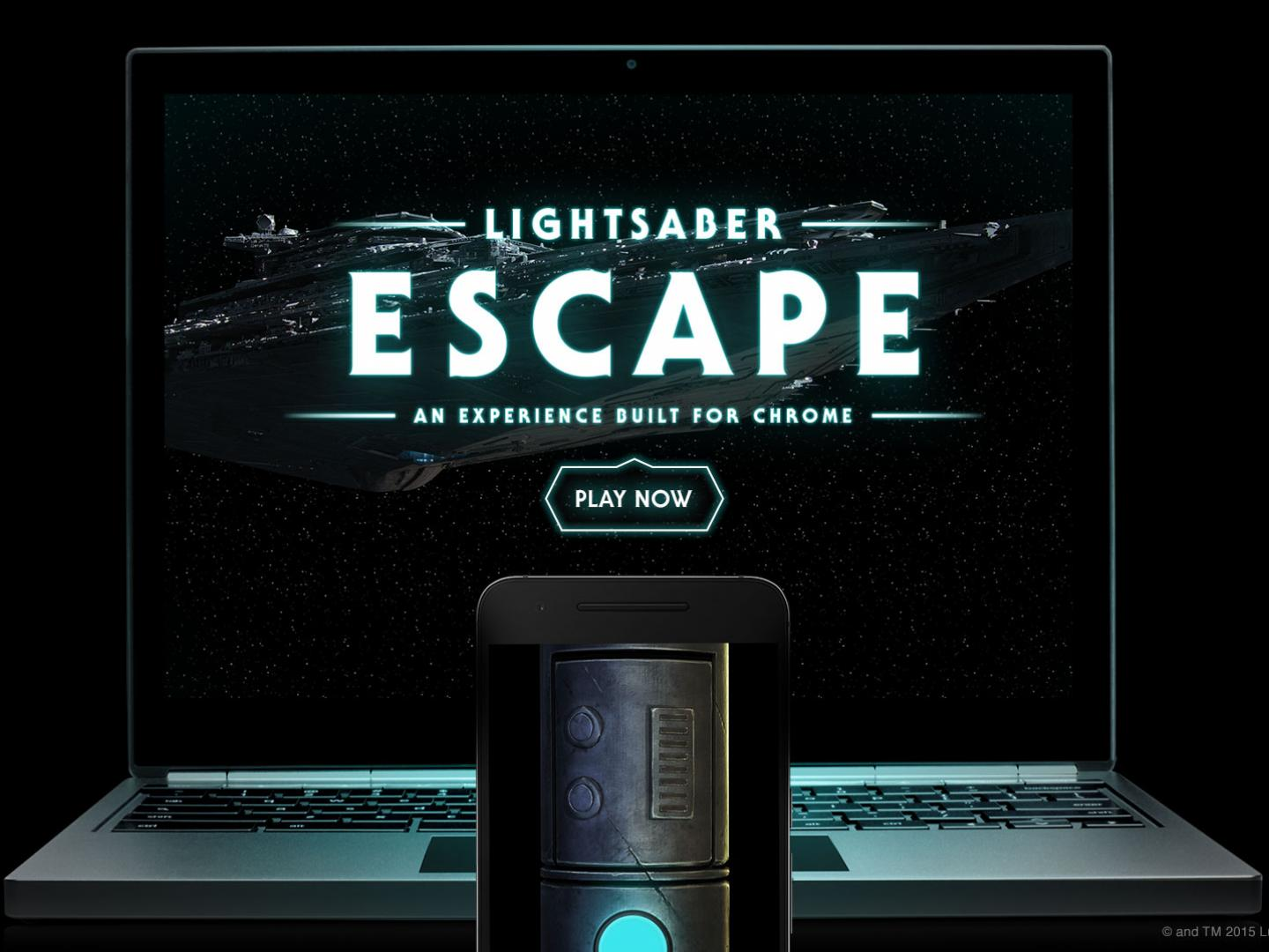 Lightsaber Escape: A Chrome Experiment Thumbnail