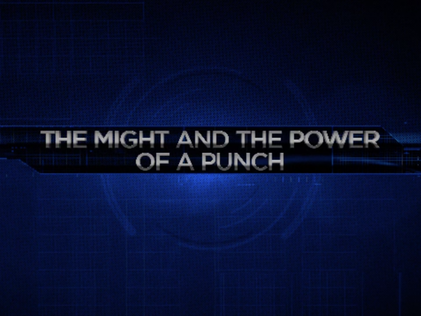 Image for Might and Power of a Punch