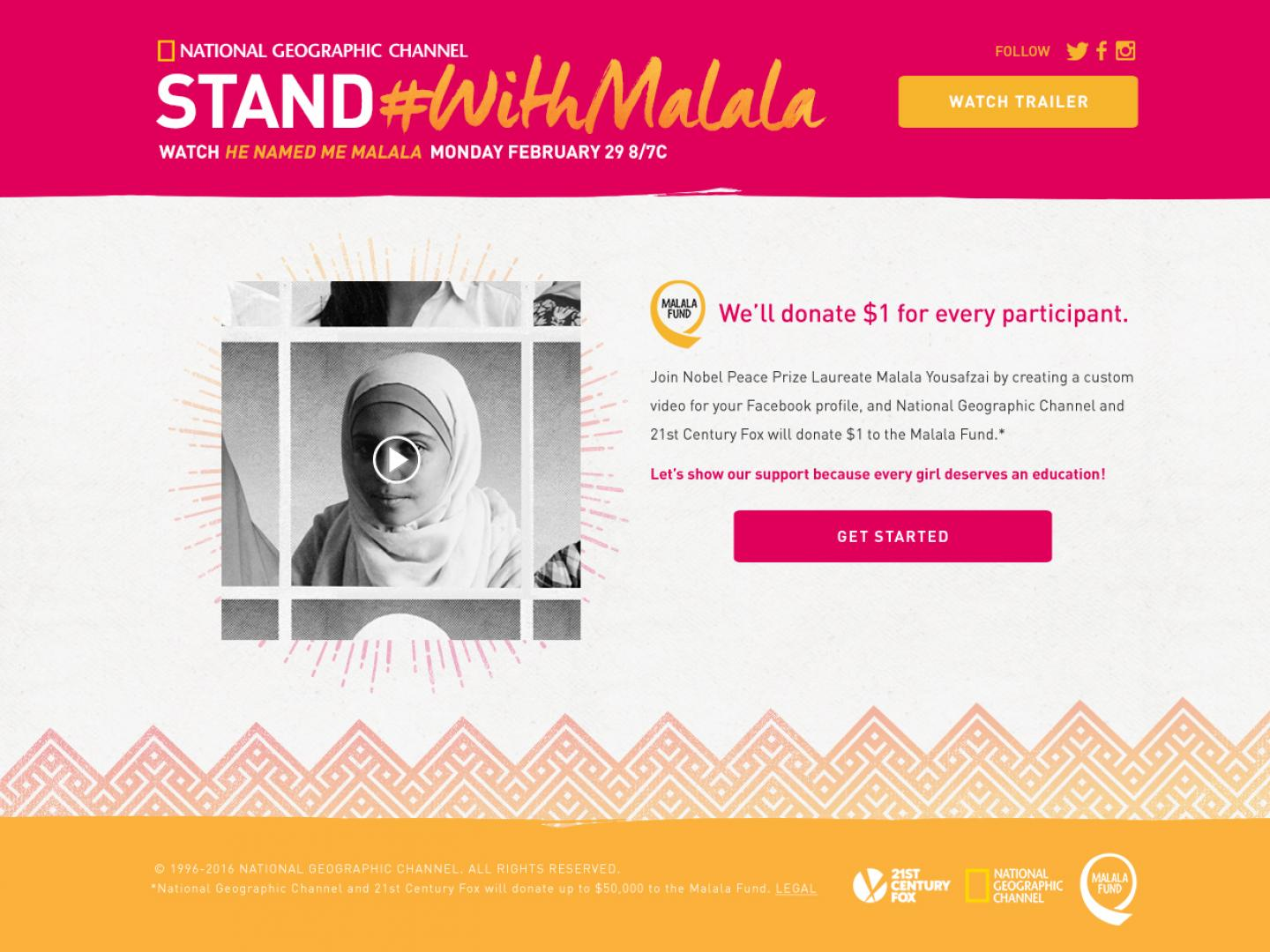Stand with Malala Thumbnail