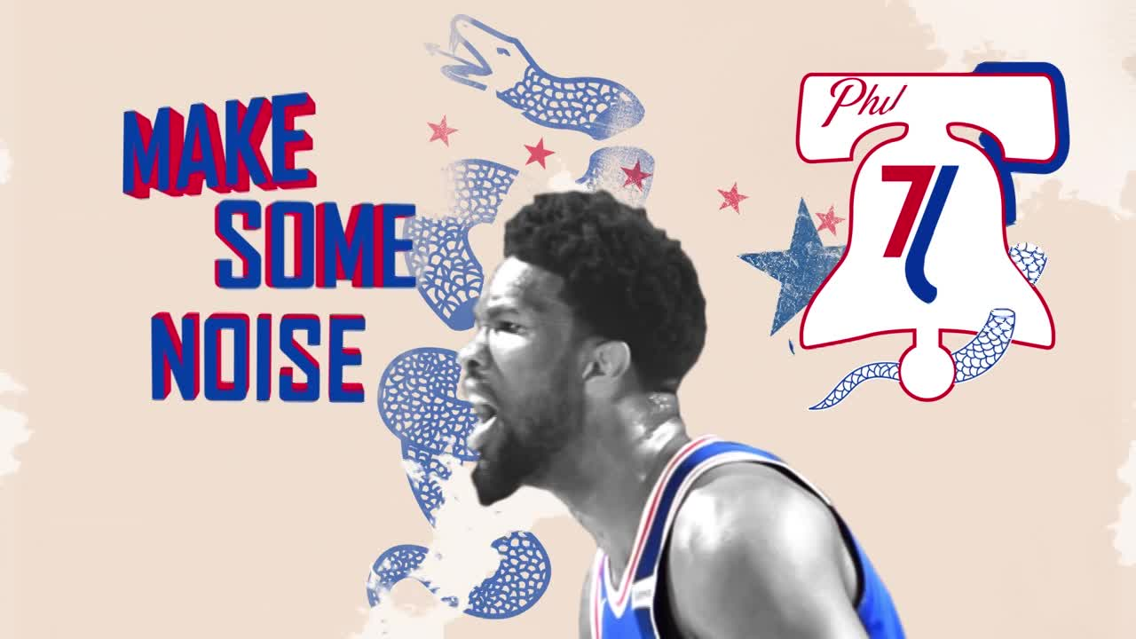 Thumbnail for Philadelphia 76ers - Phila Unite - 2018 Playoff Campaign