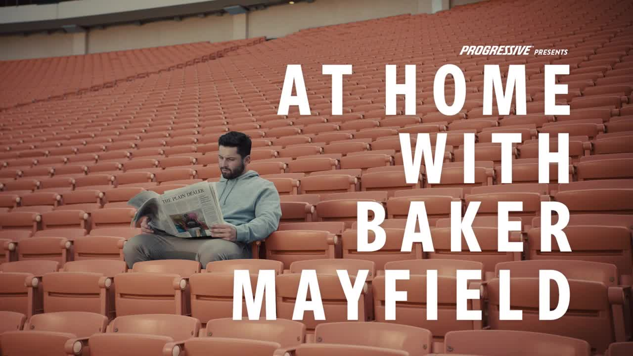 Thumbnail for Baker Mows His Lawn