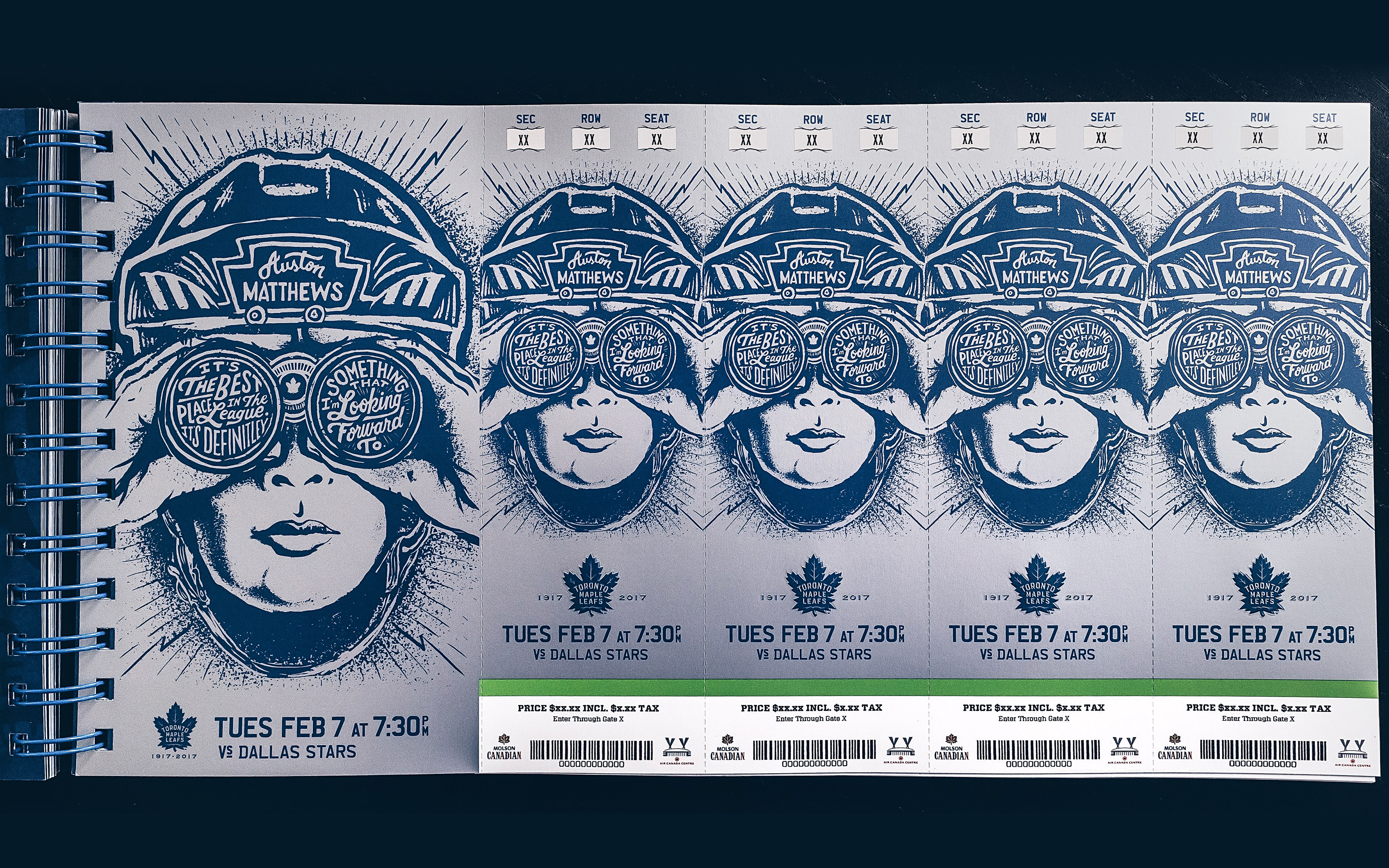 Thumbnail for Toronto Maple Leafs 2016-17 Centennial Season Ticket Package