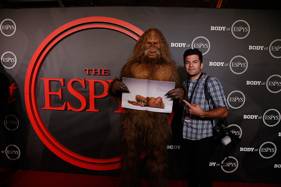 Thumbnail for Jack Links Sasquatch & ESPN: The Body Issue