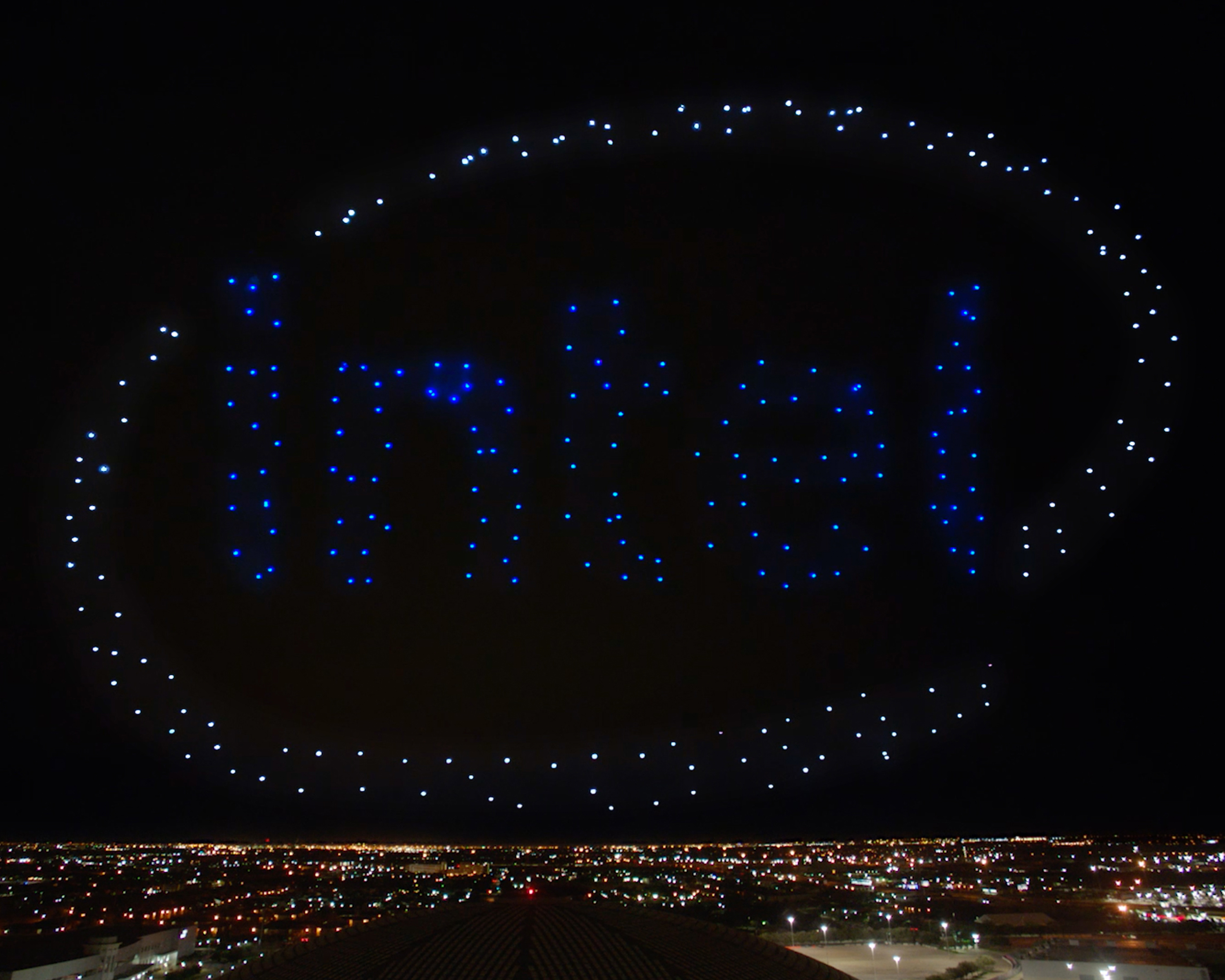 Intel Drones x Super Bowl Halftime Show with Lady Gaga Thumbnail