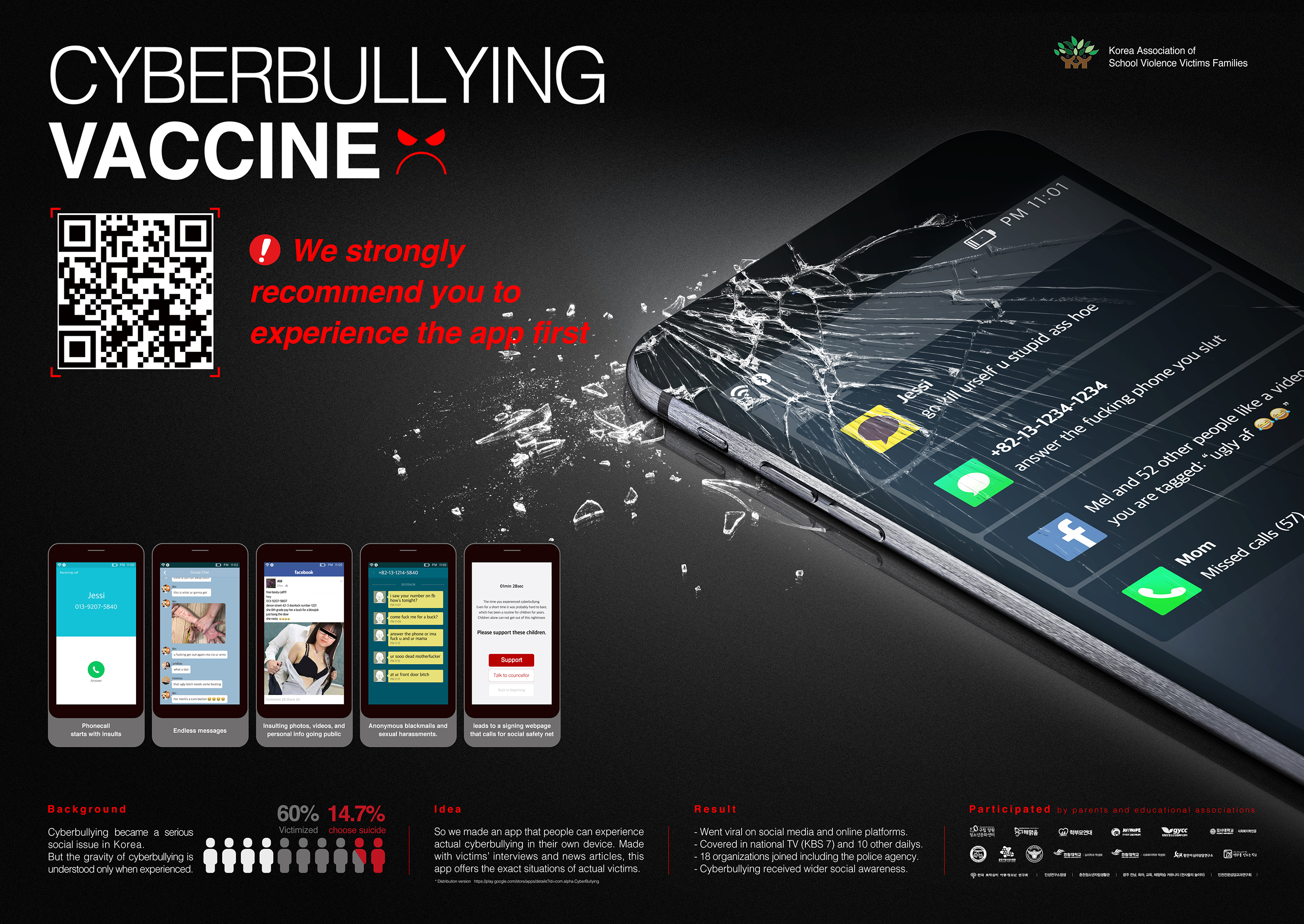 Thumbnail for Cyberbullying Vaccine App