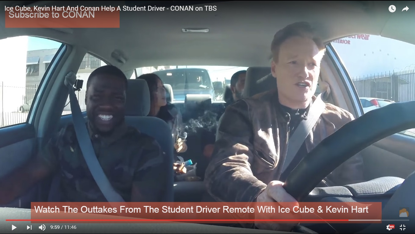 CONAN Remote: Ride Along 2 with Kevin Hart and Ice Cube Thumbnail