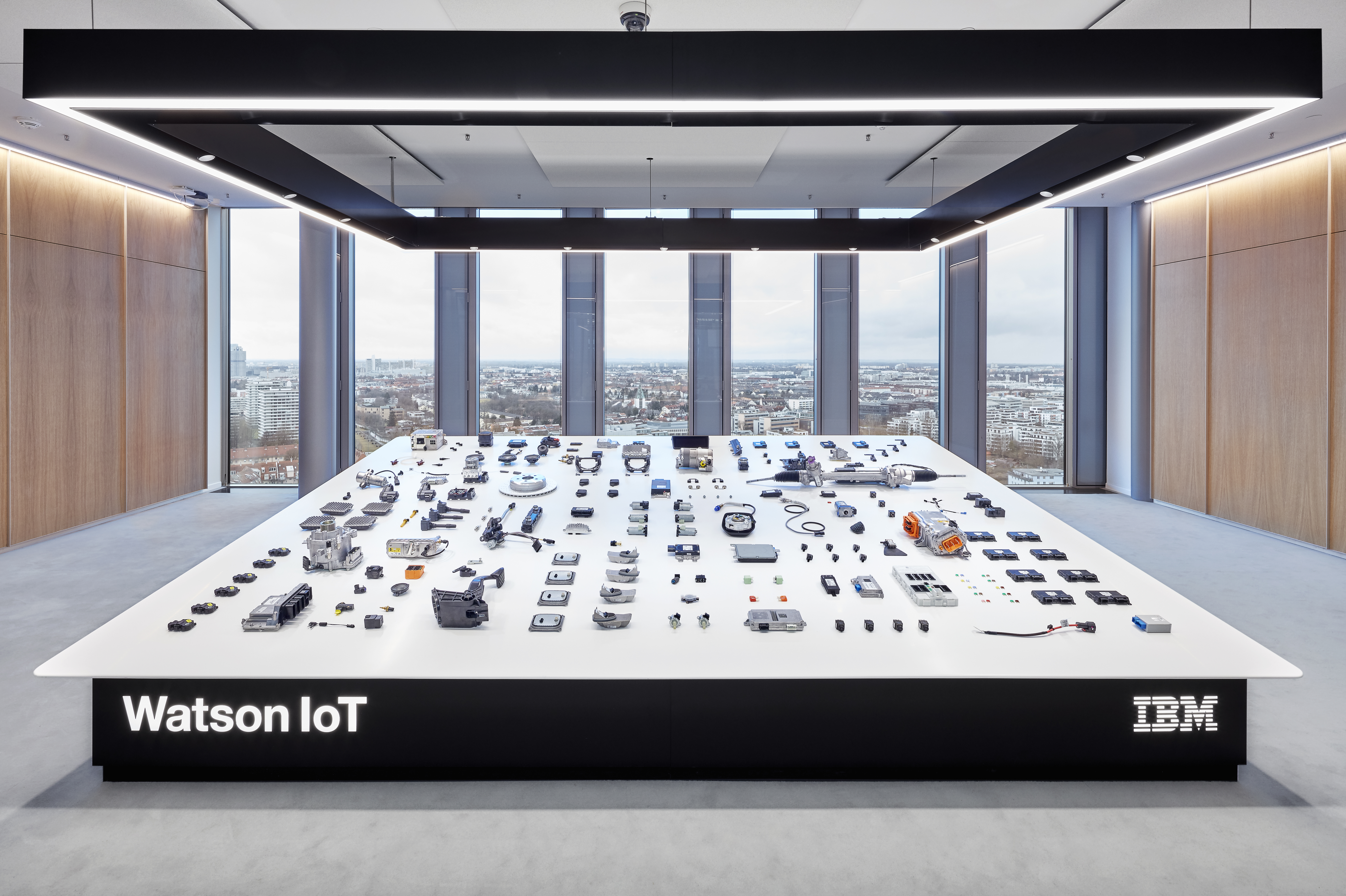 Image Media for IBM Watson IoT Centre, Munich