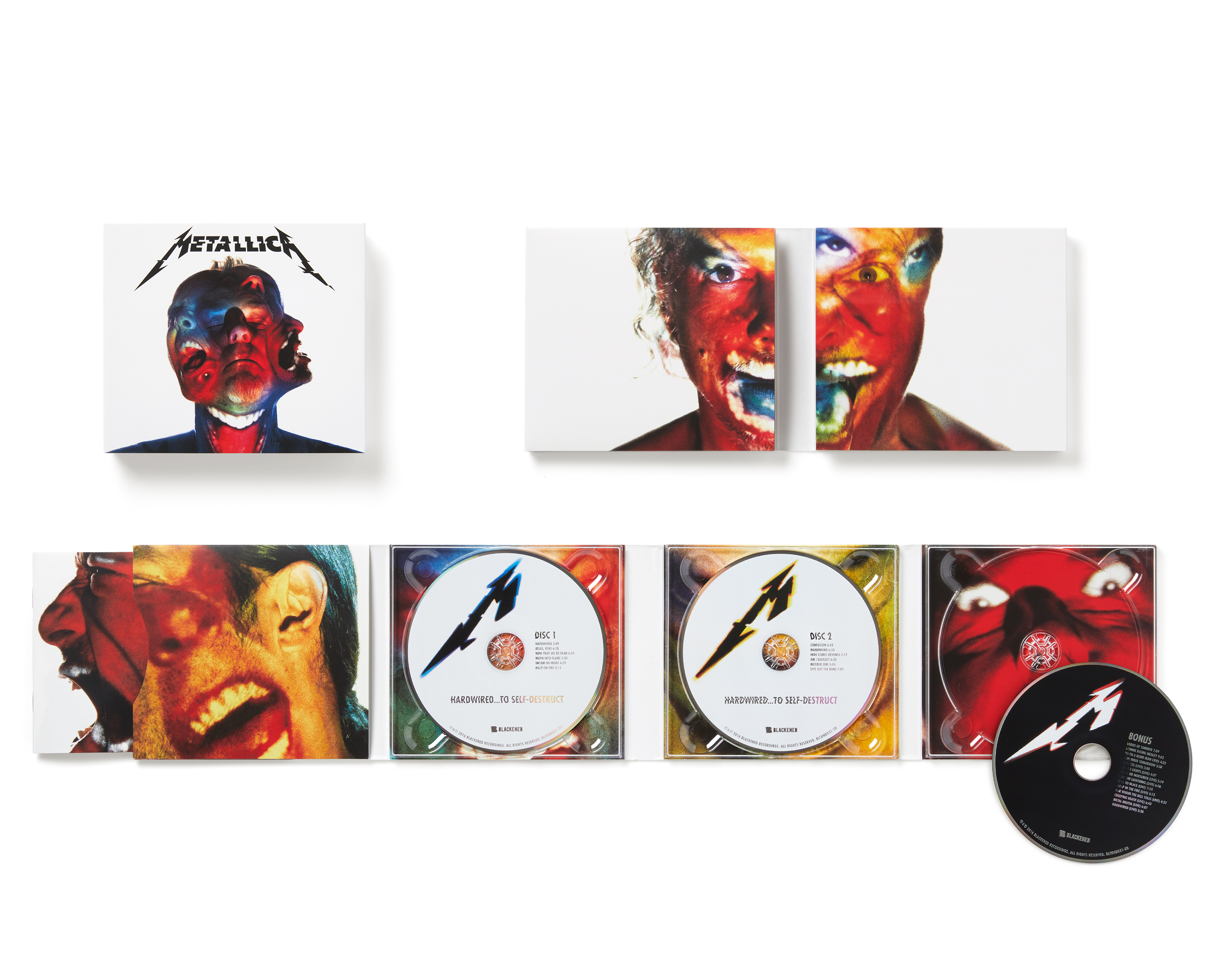 Image Media for Metallica Hardwired... to Self-Destruct album design