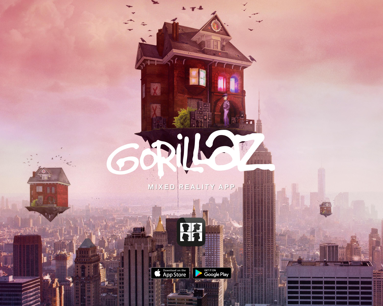 Official Gorillaz App Thumbnail