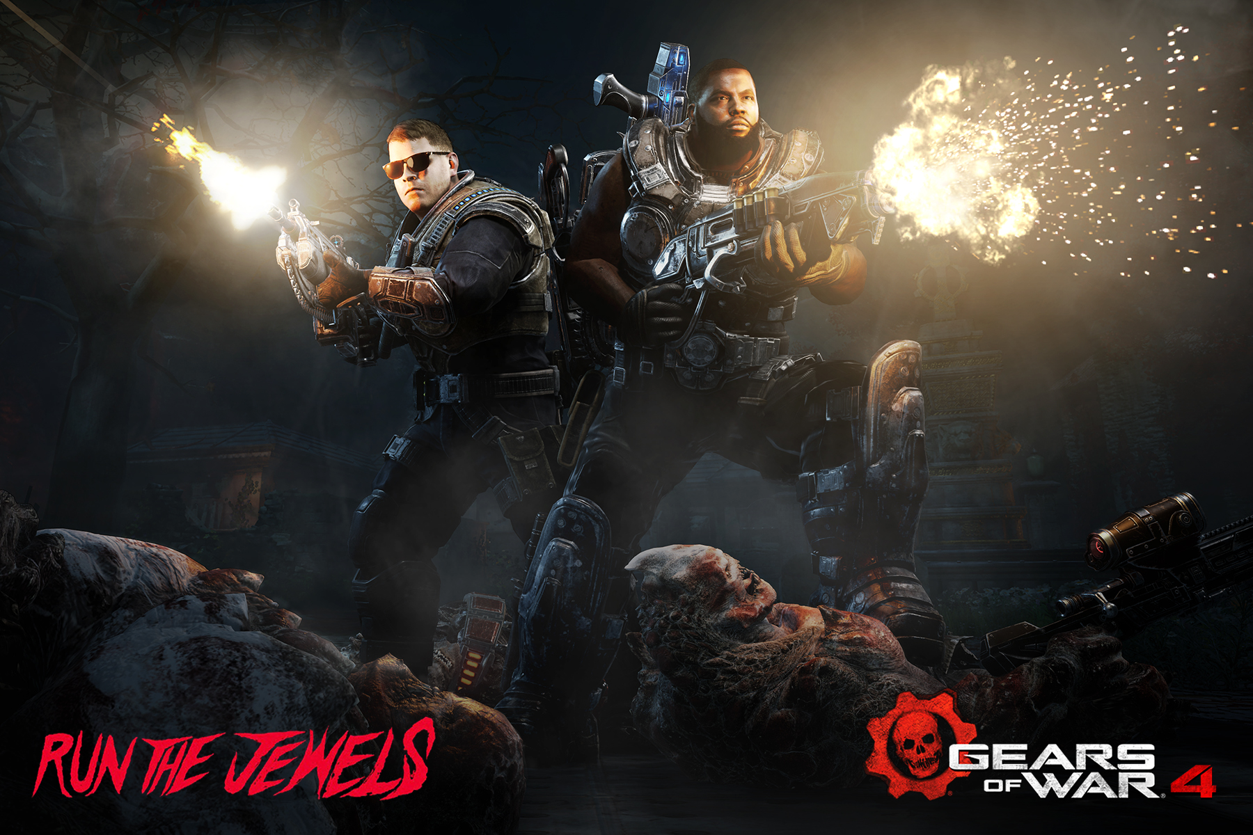 Thumbnail for Gears of War 4 x Run The Jewels