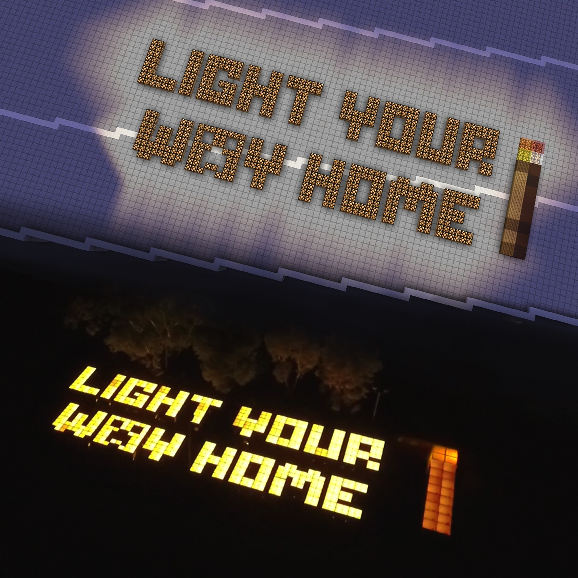 Thumbnail for Minecraft: Light Your Way Home