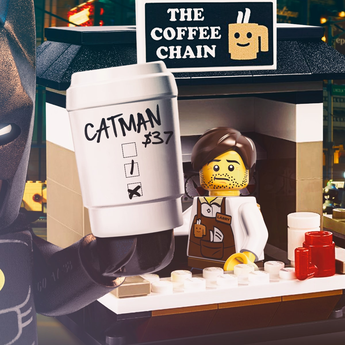 Image Media for The LEGO Batman Movie Social Campaign
