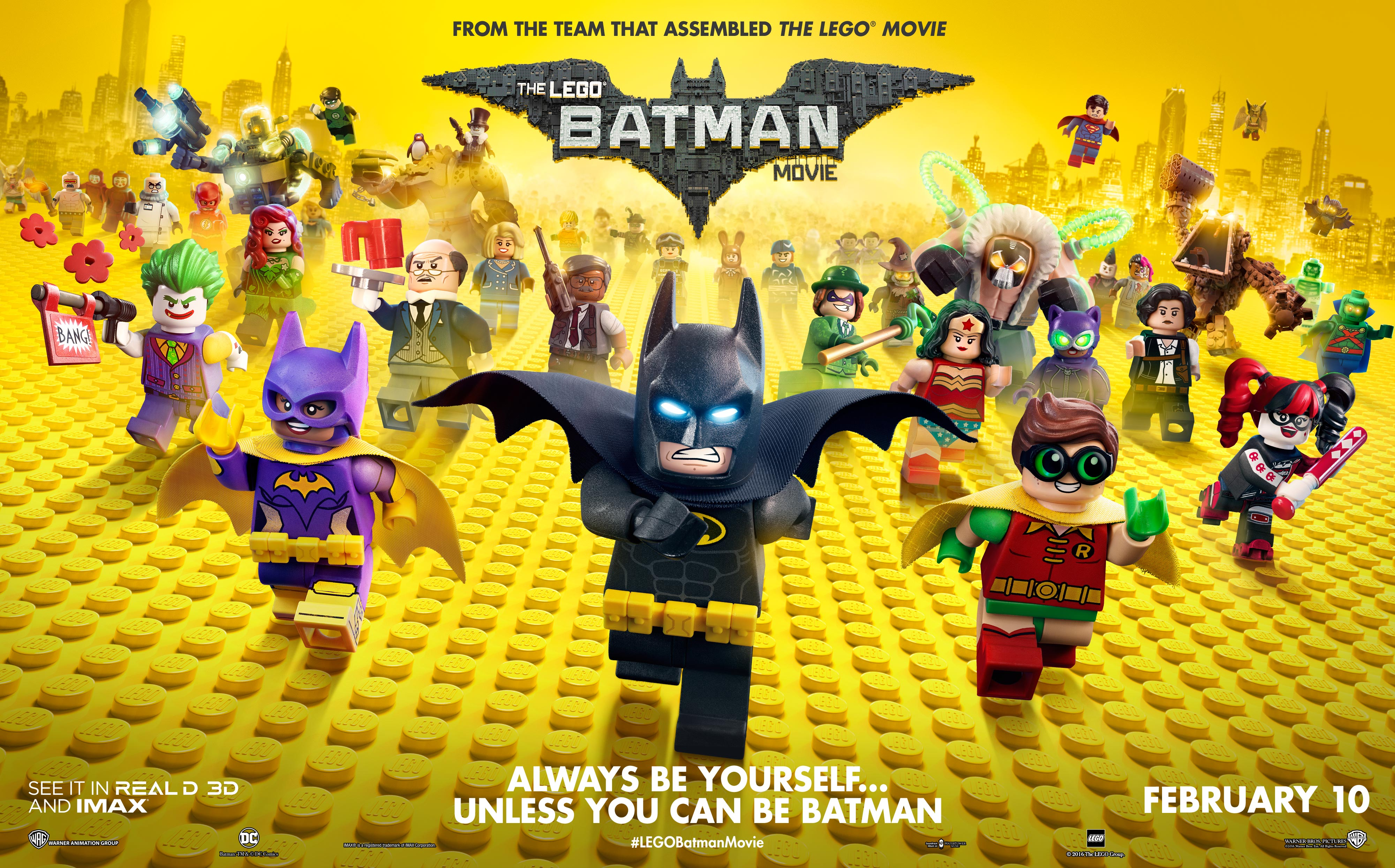 Thumbnail for The Lego Batman Movie - Theatrical: Integrated Campaign