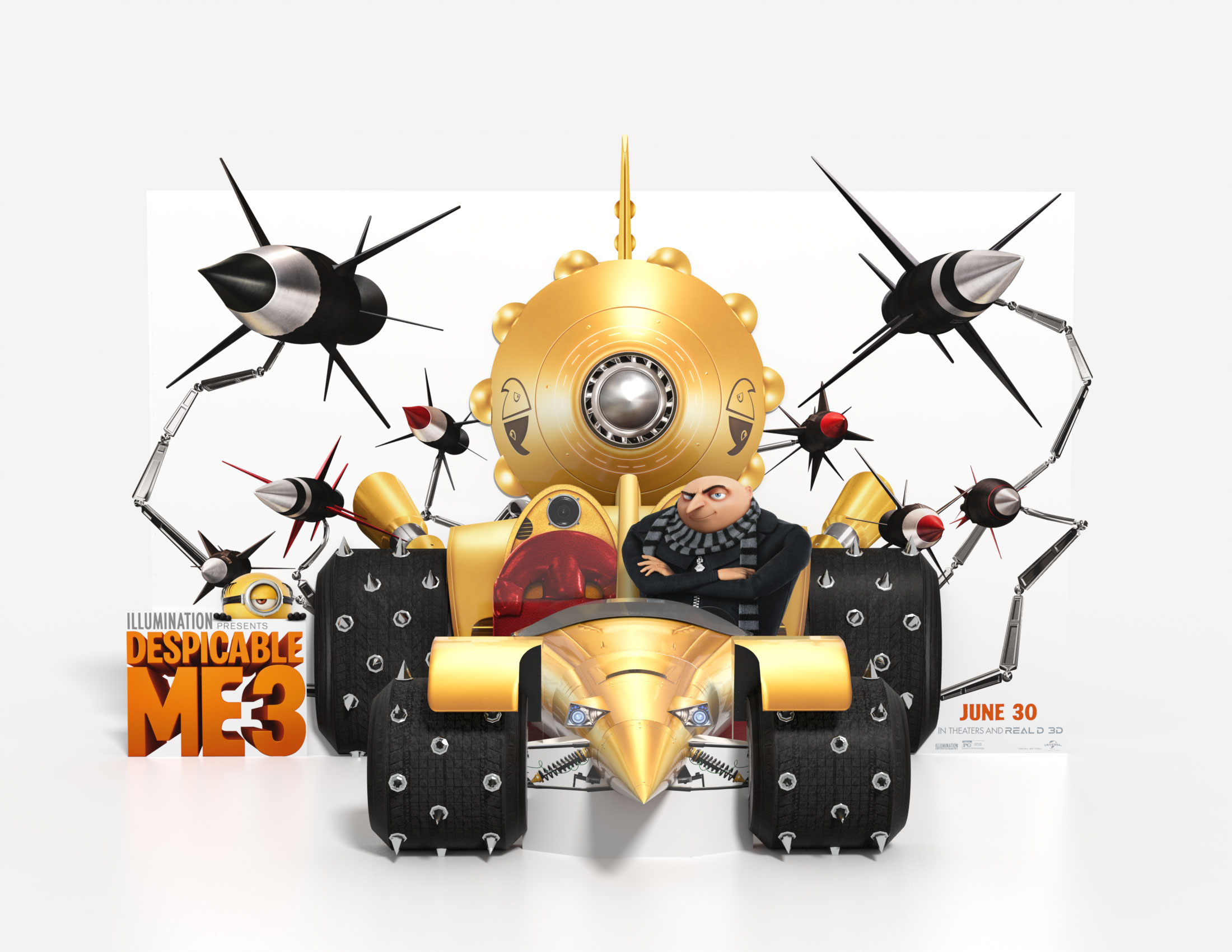 Despicable Me 3 Theatrical Display Standee Thumbnail