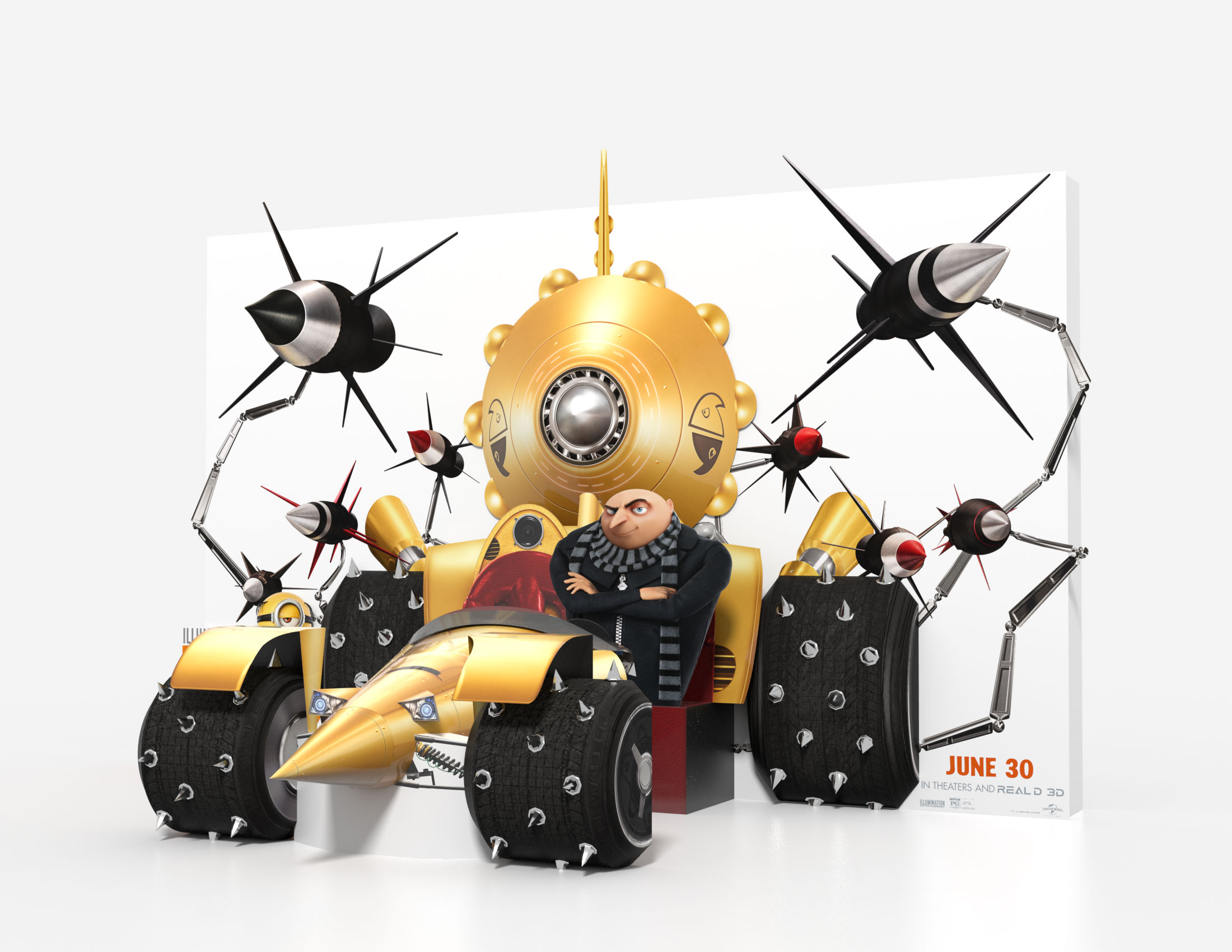 Thumbnail for Despicable Me 3 Theatrical Display Standee