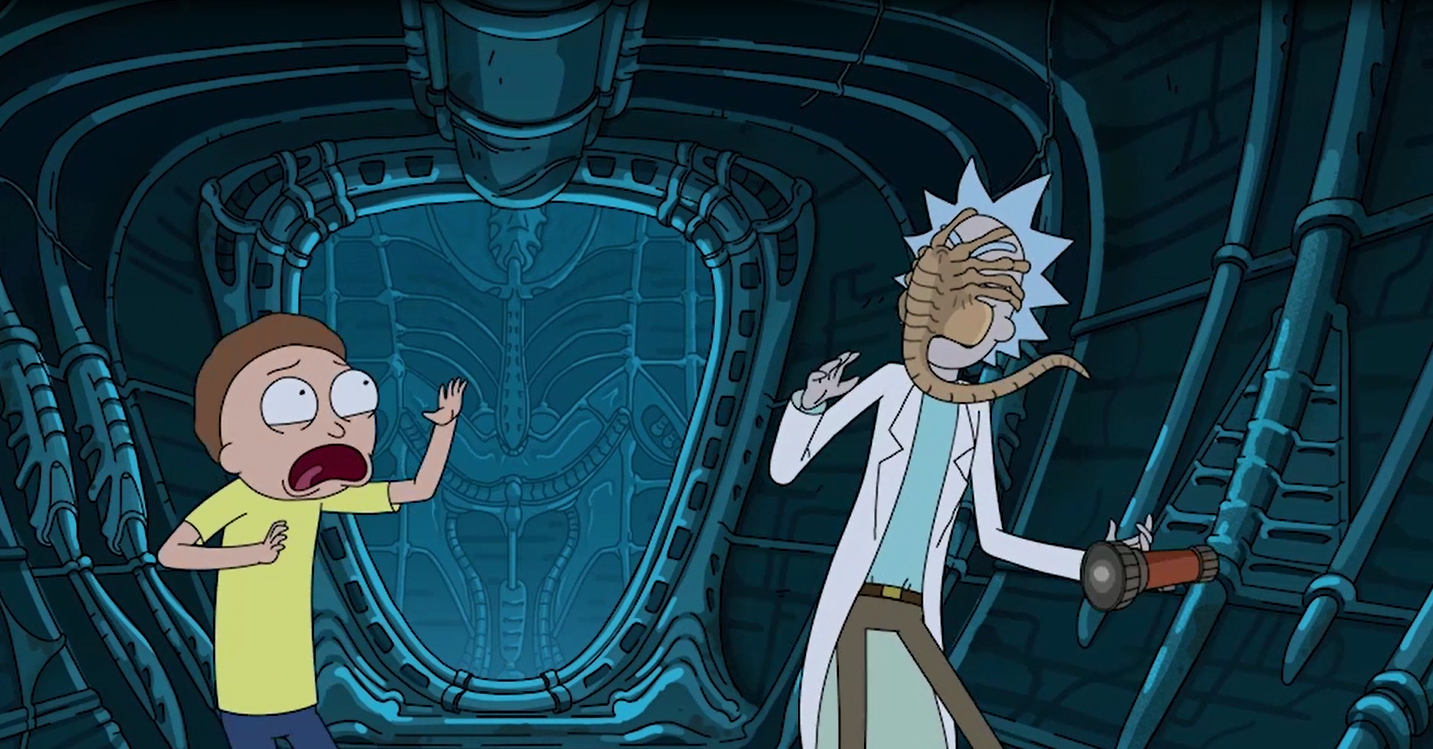 Rick and Morty/Alien: Covenant Integration Thumbnail