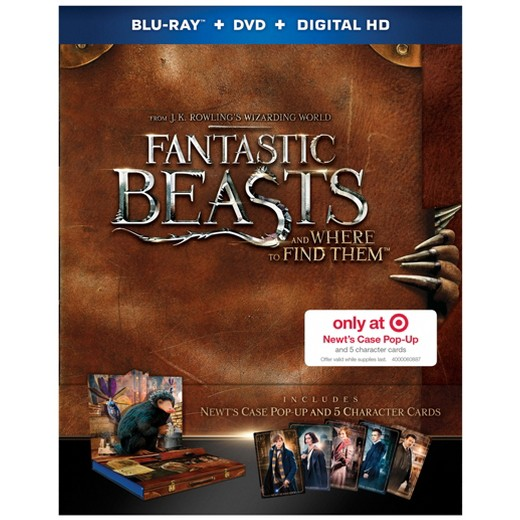 Thumbnail for Fantastic Beasts and Where to Find Them: Newt's Case Pop-Up Packaging