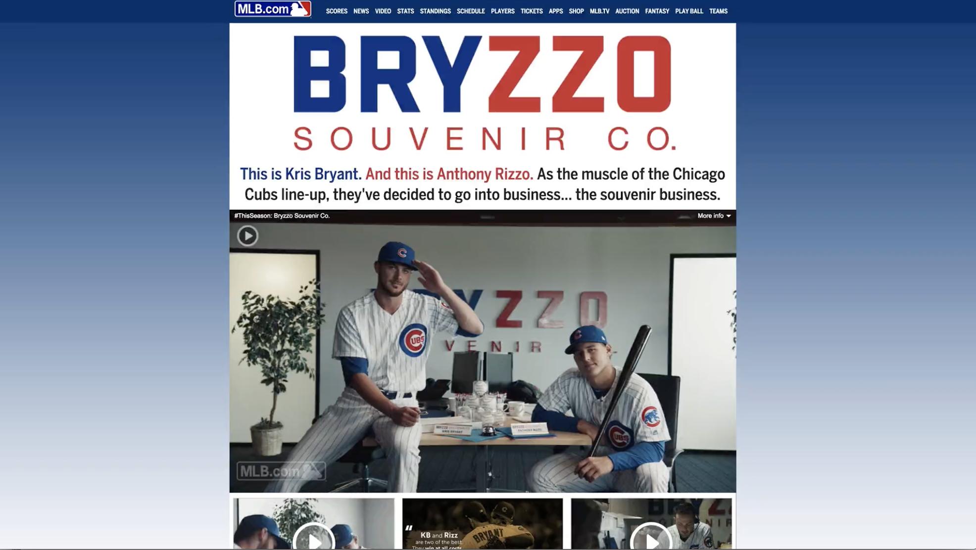 Thumbnail for Bryzzo Souvenir Co.