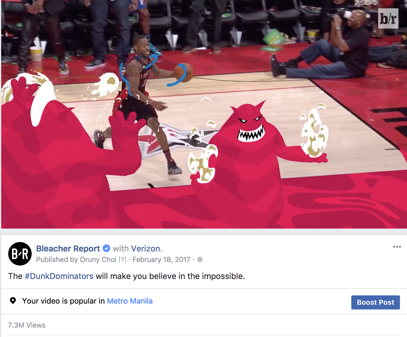 Image Media for Bleacher Report NBA Dunk Dominators