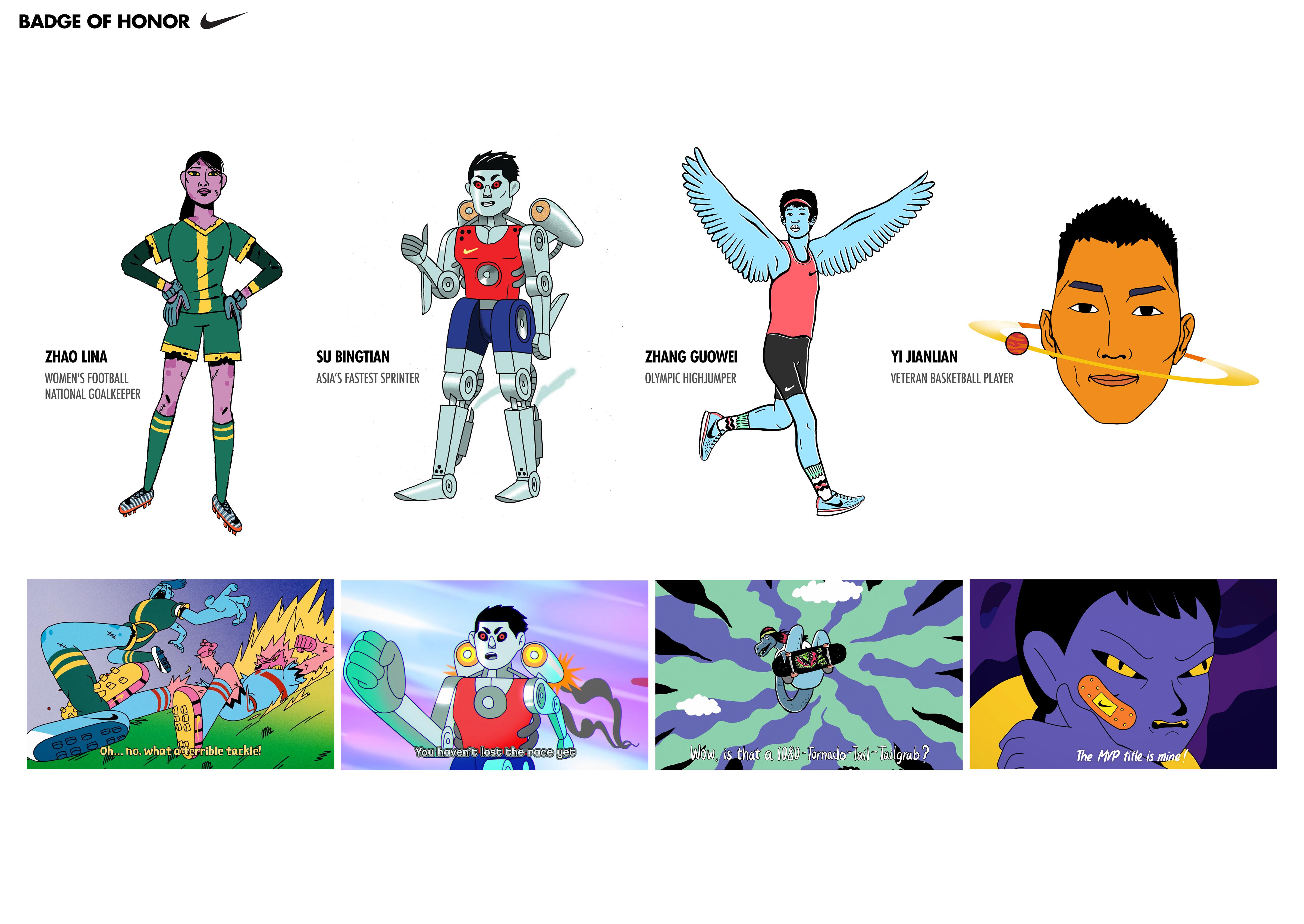 Thumbnail for Nike-Badge of Honor